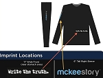 McKee Story/Write the Truth Long Sleeve T-Shirt