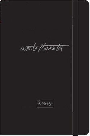 """Write the Truth"" Moleskin Notebook"